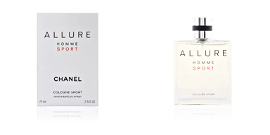 Chanel ALLURE HOMME SPORT eau de cologne spray 75 ml