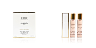 Chanel COCO MADEMOISELLE twist and spray 2 Refills perfume