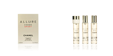 Chanel ALLURE HOMME SPORT recambio 3 x 20 60 ml