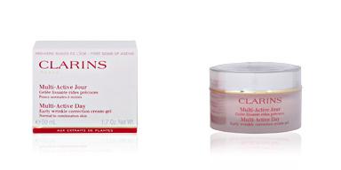 Face moisturizer MULTI-ACTIVE jour gelée lissante Clarins