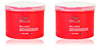 Shiny hair mask BRILLIANCE treatment for fine/normal colored hair Wella