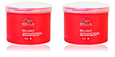 BRILLIANCE mask thick hair Wella