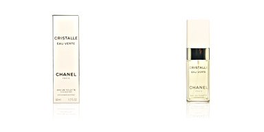 Chanel CRISTALLE EAU VERTE eau de toilette concentrée spray 50 ml
