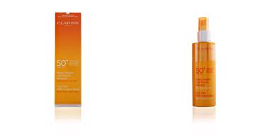 SUN spray solaire lait fluide SPF50 Clarins