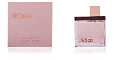 SHE WOOD eau de parfum vaporizador 100 ml Dsquared2