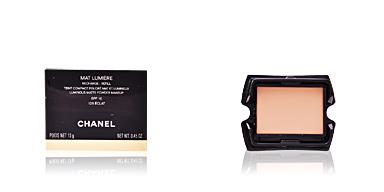 Polvo compacto MAT LUMIÈRE teint compact poudré mat recarga Chanel