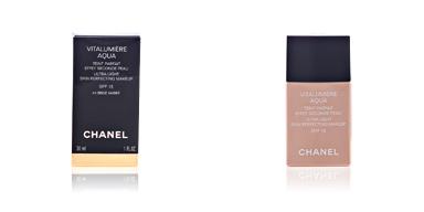Chanel VITALUMIERE AQUA fluide #44-beige ambré 30 ml
