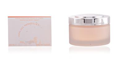Body moisturiser EAU DES MERVEILLES marvelous body cream Hermès