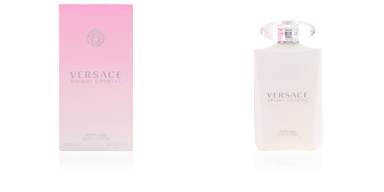 Body moisturiser BRIGHT CRYSTAL perfumed body lotion Versace
