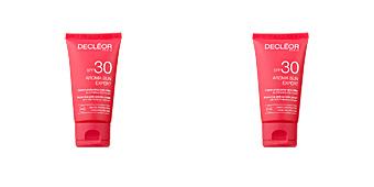 Faciales AROMA SUN EXPERT crème protectice anti-rides SPF30 Decléor