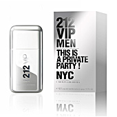 212 VIP MEN eau de toilette vaporizzatore 50 ml Carolina Herrera