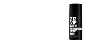 Desodorante 212 VIP MEN deodorant spray Carolina Herrera