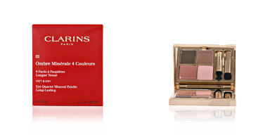 OMBRES MINERALES 4 couleurs #03-rosewood 5.8 gr Clarins