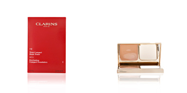 Clarins TEINT HAUTE TENUE compact #112-amber 10 gr