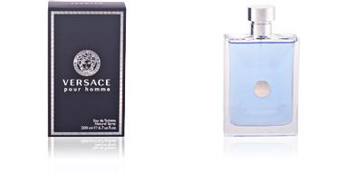 VERSACE POUR HOMME eau de toilette vaporizador 200 ml Versace