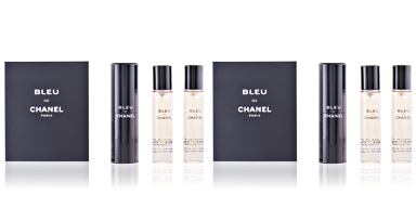 Chanel BLEU edt zerstäuber refillable 3x 20 ml