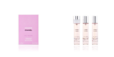 CHANCE EAU TENDRE eau de toilette twist & spray 3 refis 3 x 20 ml Chanel
