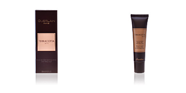 Foundation makeup TERRACOTTA SKIN fond de teint bonne mine Guerlain