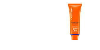 Faciais SUN BEAUTY comfort touch cream gentle tan SPF50 Lancaster