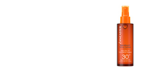 SUN BEAUTY satin sheen oil fast tan optimizer SPF30 150 ml Lancaster