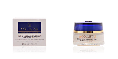 Anti aging cream & anti wrinkle treatment ANTI-AGE ultra regenerating night cream Collistar