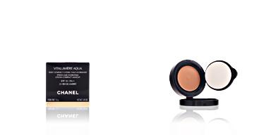 Chanel VITALUMIERE AQUA cpct #34-beige ambré 12 gr