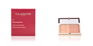 BRONZING DUO #01-light Clarins
