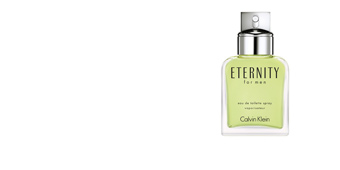 Calvin Klein ETERNITY MEN eau de toilette vaporizador 50 ml