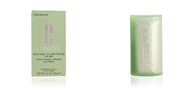 FACIAL SOAP extra strength with dish oily skin Clinique