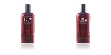 Champú hidratante CREW 3 IN 1 shampoo, conditioner and body wash American Crew