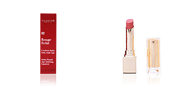 ROUGE ECLAT #02-sweet rose Clarins