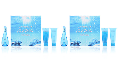 Davidoff COOL WATER WOMAN COFFRET 3 pz