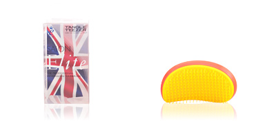 Hair brush SALON ELITE neon purple yellow Tangle Teezer