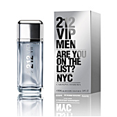 212 VIP MEN eau de toilette vaporizzatore 200 ml Carolina Herrera