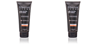 Kérastase HOMME CAPITAL FORCE gel ultra-fixant densifiant 200 ml