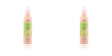 BE CURLY hair spray Aveda