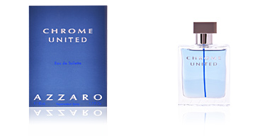 Azzaro CHROME UNITED eau de toilette vaporizador 50 ml
