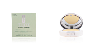 Anti redness treatment cream REDNESS SOLUTIONS instant relief pressed powder Clinique
