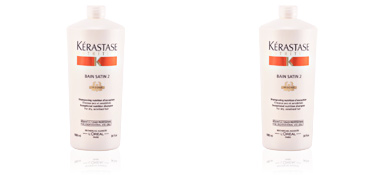 NUTRITIVE bain satin 2 shampoing nutrition d'exception 1000 ml Kérastase