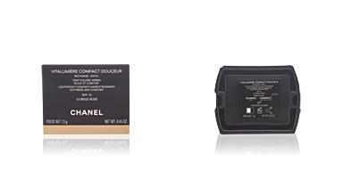 Chanel VITALUMIERE COMPACT DOUCEUR refill #22-beige rosé 12 gr