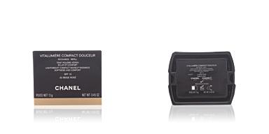 Chanel VITALUMIERE COMPACT DOUCEUR refill #32-beige rosé 12 gr