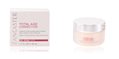 Cremas Antiarrugas y Antiedad TOTAL AGE CORRECTION complete night cream Lancaster