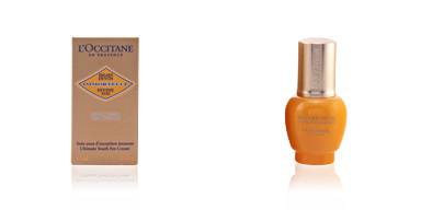 Eye contour cream IMMORTELLE regard divin L'Occitane