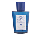 Shower gel BLU MEDITERRANEO BERGAMOTTO DI CALABRIA exhilarating shower gel Acqua Di Parma