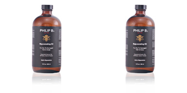 REJUVENATING OIL for dry to damaged hair & scalp 480 ml Philip B