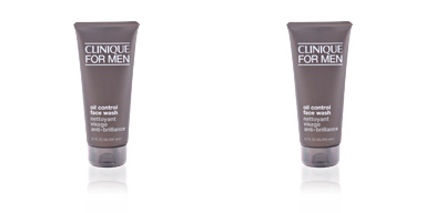 MEN oil-control face wash Clinique