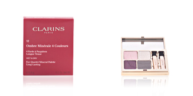 Clarins OMBRES MINERALES 4 couleurs #12-vibrant light 5.8 gr