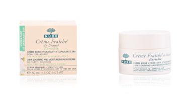 Face moisturizer CRÈME FRAÎCHE DE BEAUTÉ enrichie peau sensibles, sèches à très sèches Nuxe