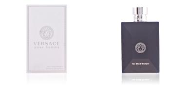 Shower gel VERSACE POUR HOMME hair & body shampoo Versace
