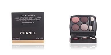 Chanel LES 4 OMBRES #202-tissé camélia 2 gr